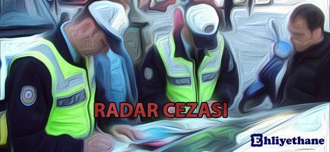 radar cezası