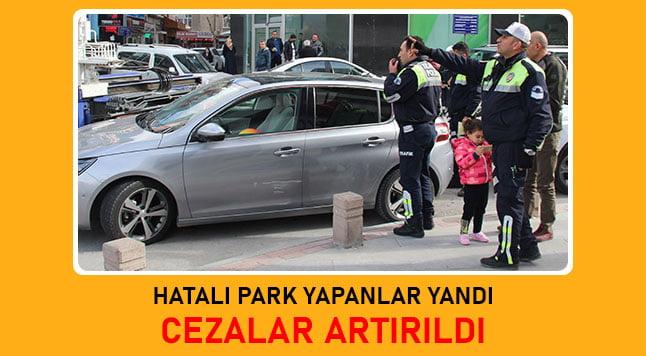 hatalı park cezası