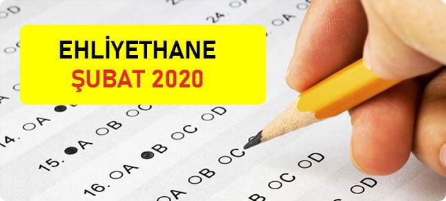 şubat 2020 ehliyet sınav soruları